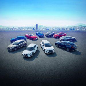 Lexus HEV Range