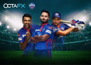 Delhi Capitals Partner OctaFX